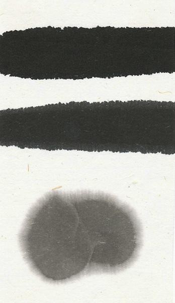 梅花墨(古梅園製・漢字書道用墨)の色見本