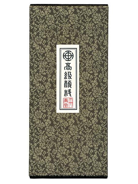 顔彩12色セット(日本画画材・丹青堂製)の箱