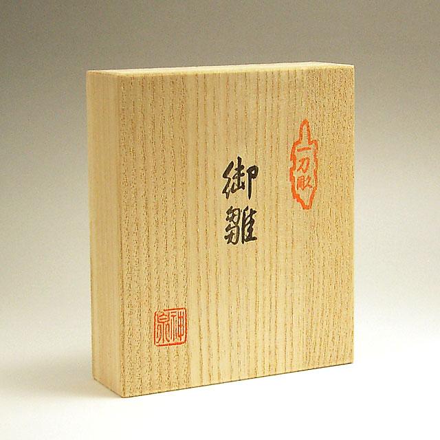 一刀彫雛人形・立雛3号の桐箱